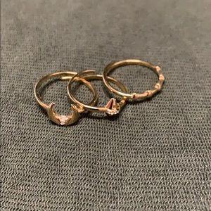 Stella & Dot stacking rings